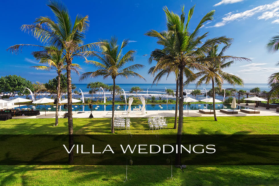 Best Bali Villa wedding photographer