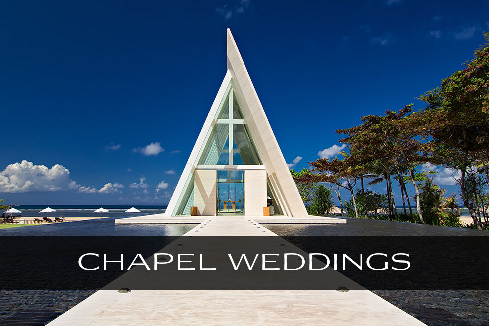 Best Bali chapel wedding photographer